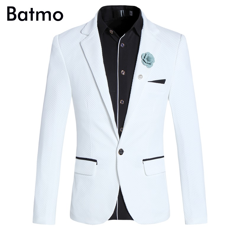 2017 New arrival white Men's Blazer Casual Blazer For Men Blazer wedding suit Men S,M,L,XL,XXL,3XL,4XL,5XL женское платье andys 5xl m l xl xxl 3xl 4xl 5xl vestidos f27