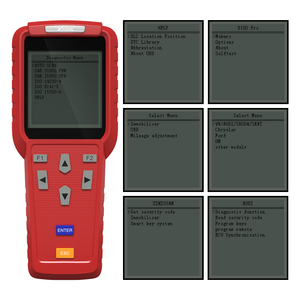 Image 4 - Ferramenta de diagnóstico original xtool x100 pro programador chave automática com adaptadores eeprom apoio odômetro quilometragem ajuste atualização gratuita