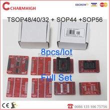 100% оригинальный адаптер TSOP48/40/32 + sop44 + SOP56, всего 8 шт./лот, высокое качество. для TL866CS/TL866A программиста