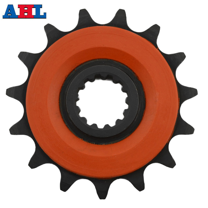 Motorcycle parts Front Sprocket Motor Gear For SUZUKI DR250 DRZ400 Jonathan350 LTZ400 DRZ LTZ 400 KAWASAKI KLX400 520 15 Tooth цены