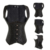 Sprial Trainer Cintura de Aço Desossado Espartilhos E Corpetes Underbust Corset Steampunk Corselet Burlesque Cetim Preto Plus Size TYQ