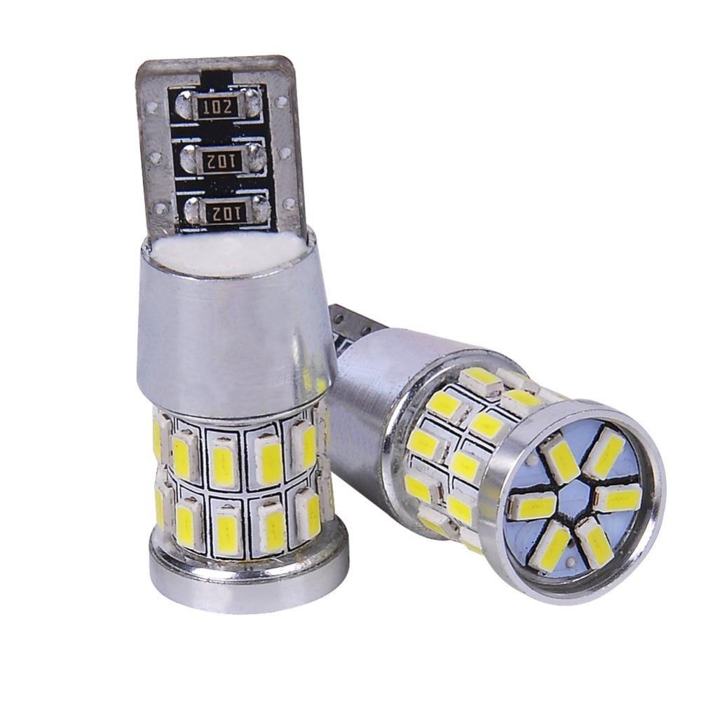 2Pcs/lot T10 LED W5W w/ Samsung 30SMD 3014 Chips LED Car Auto Lamp 12V Light bulbs For subaru impreza legacy xv forester Outback