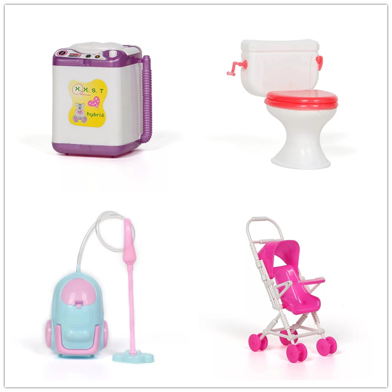 Lol Dolls Vacuum Cleaner Washer Bicycle Swim Ring Closestool Accessories Toys For Baby Dolls The Best Lol Accessories For Kids