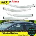A & T Vent visor car styling Toldos Refugios Lluvia Dom Visera de La Ventana Para Mazda Atenza 2013 2014 2015 Cubre coche-Styl