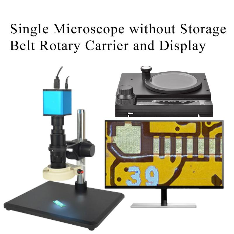 Автоматический Фокусировочный микроскоп Высокое Разрешение HDMI высокоскоростное электронное видео измерение для 14 миллионов промышленных электронных - Цвет: Красный