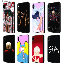Lavaza Sia Kate Isobelle Furler Soft Silicone Case Cover for Apple iPhone 6  6S 7 8. 9 Colors Available 2fde51a1518a