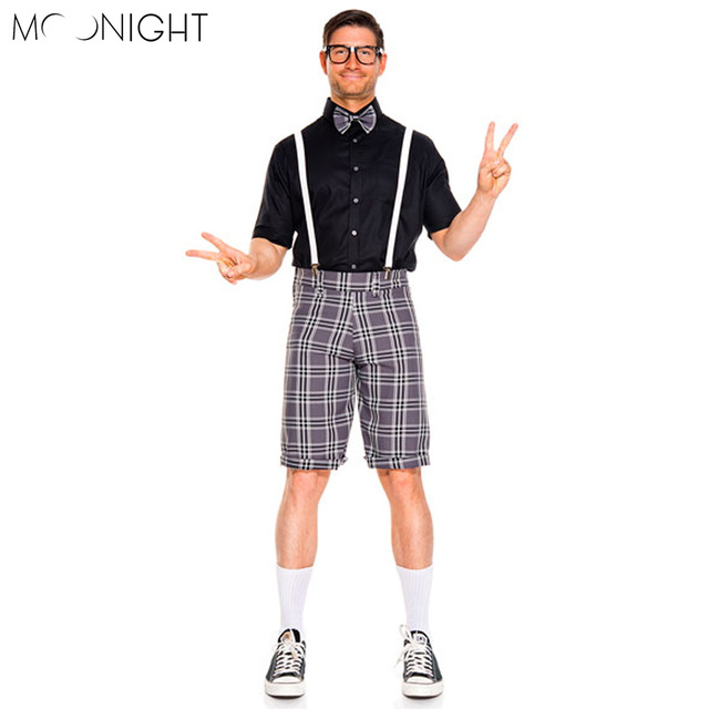 MOONIGHT New Oktoberfest Costume Men Bavarian Octoberfest Festival Party Clothes Halloween Costumes