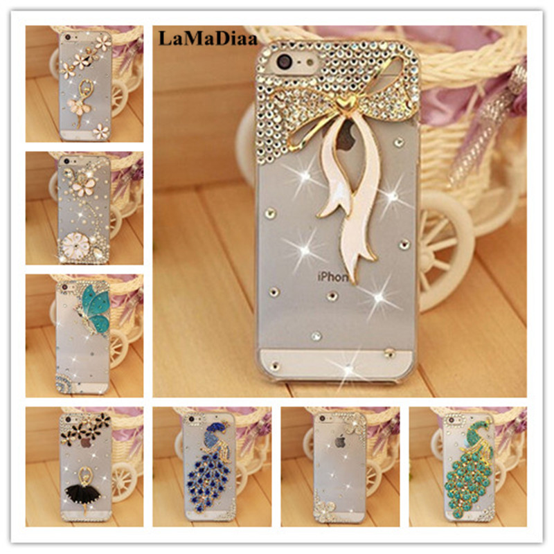 LaMaDiaa Bling <font><b>Rhinestone</b></font> Crystal Hard Back <font><b>Case</b></font> For <font><b>Huawei</b></font> Mate 10 <font><b>20</b></font> 30 lite <font><b>Pro</b></font> P8 P9 P10 P20 P30 <font><b>Pro</b></font> Lite soft Phone <font><b>Case</b></font> image