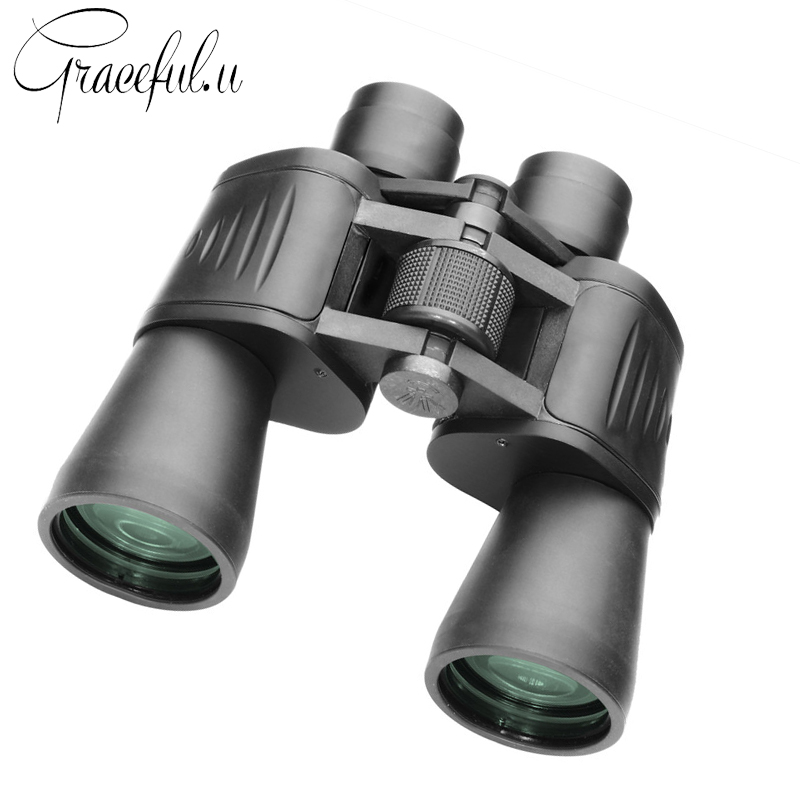 10x50 High Magnification HD Binoculars for Hunting Telescope Profissional Binocular Night Vision Field-Glasses Binoculo binocular telescope high definition high double night vision non infrared for children adult concert glasses