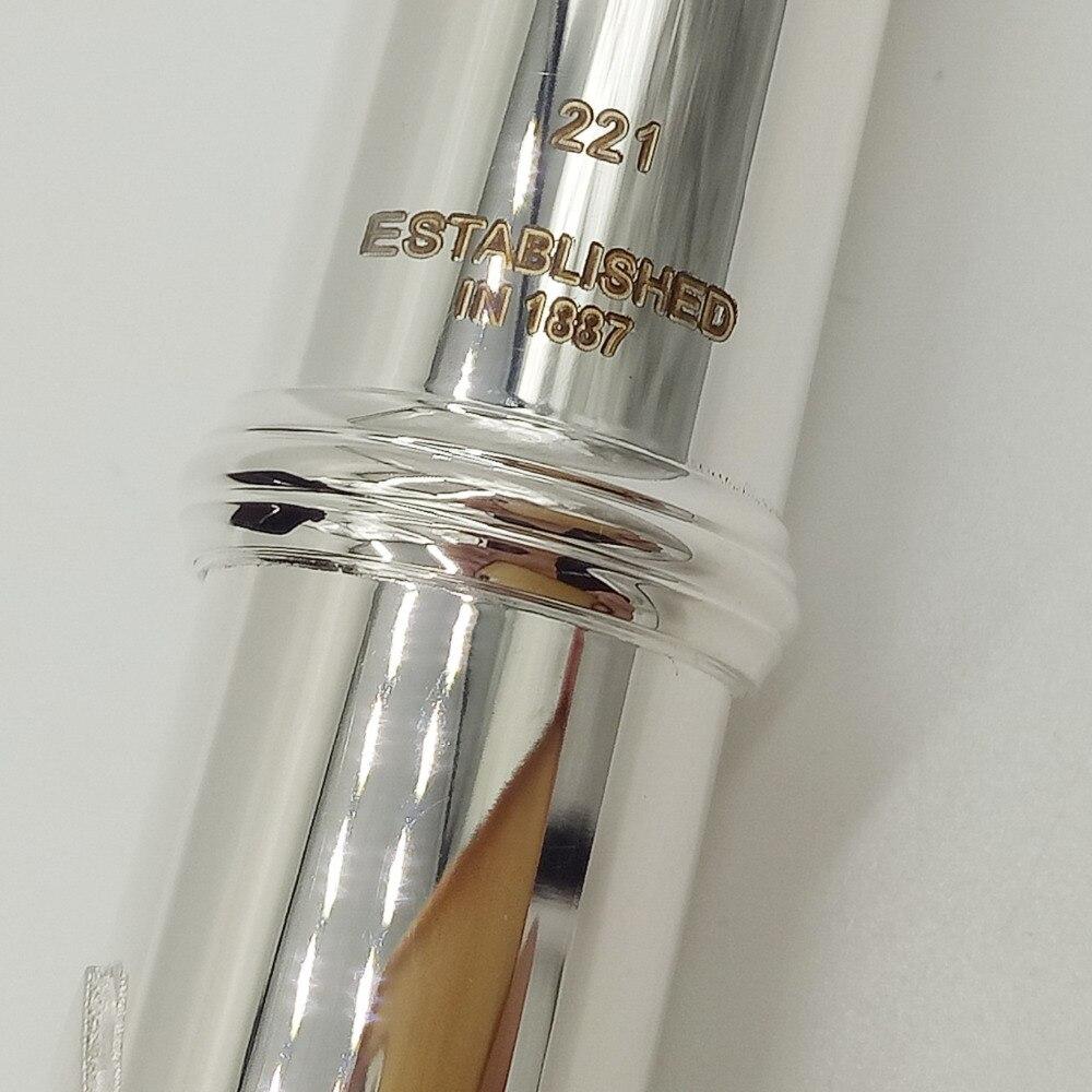 Музыка любитель клуб Япония промежуточных стандартов флейты 221 серии посеребренные флейта кольцо для ключей 16 отверстий закрыты открытое о...