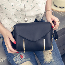 2016 spring summer vintage korean style chain women bag fashion new design cross shoulder casual shoulder bag phone bag