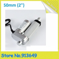 Stroke 50mm/ 12V 600N Linear actuator,Electric actuator dc lift motor CE certificate.Free shipping 1pc