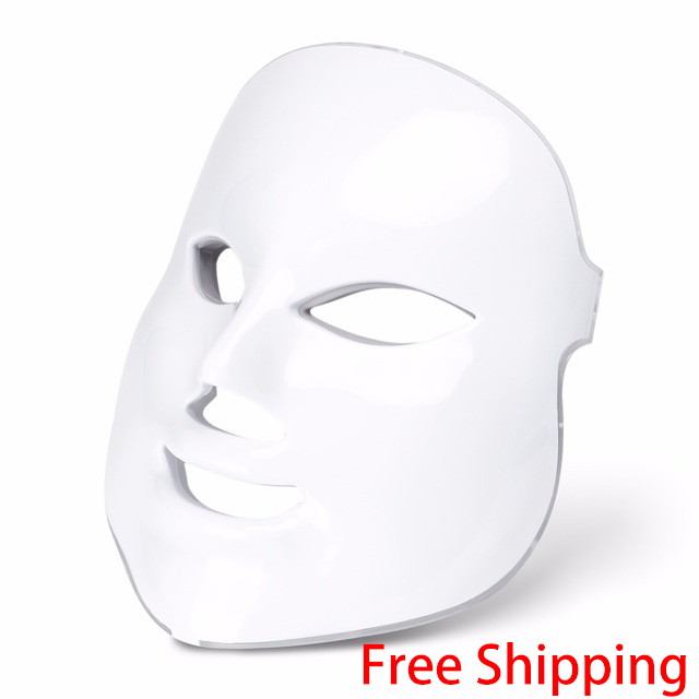 Imagen de Facial LED Beauty Mask Wrinkle Removal Electric Device PDT Photon Skin Rejuvenating Beauty Machine Anti-Aging Therapy