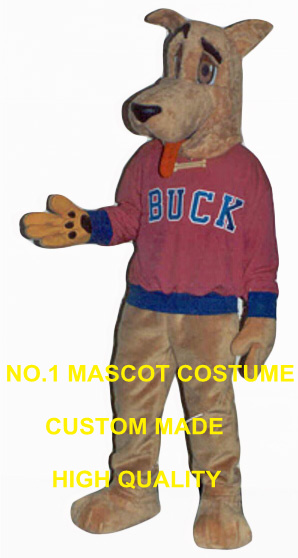 racing greyhound mascot costume wholesale for sale adult size cartoon lucky buck theme anime cosplay costumes carnival 2708