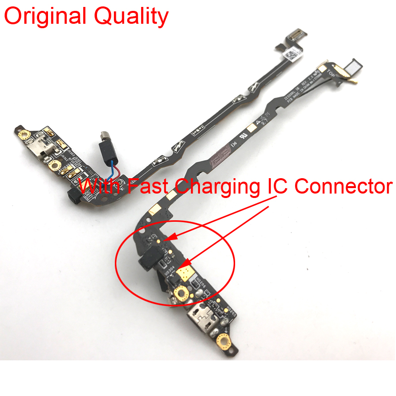 USB Dock Charging Port Plug Charger Connector MIC Microphone Board Flex Ribbon For ASUS Zenfone 2 Laser ZE500KL Z00ED 5.0