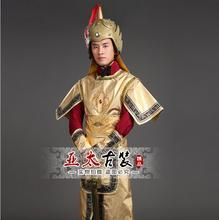 Ancient Chinese generals Suit General armor Costume  ancient adult soldier film television three dress
