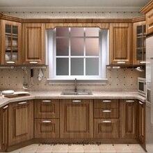 ПВХ/винил кухонный шкаф(LH-PV046