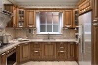 PVC/vinyl kitchen cabinet(LH PV046)
