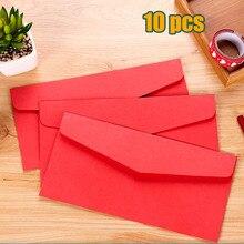 22x11cm red New Vintage Blank Stationery envelopes / DIY Multifunction Gift envelopes for wedding birthday party