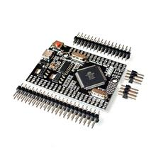 MEGA 2560 PRO Embed CH340G/ATMEGA2560-16AU Chip with male pinheaders Compatible for Arduino Mega 2560(China)