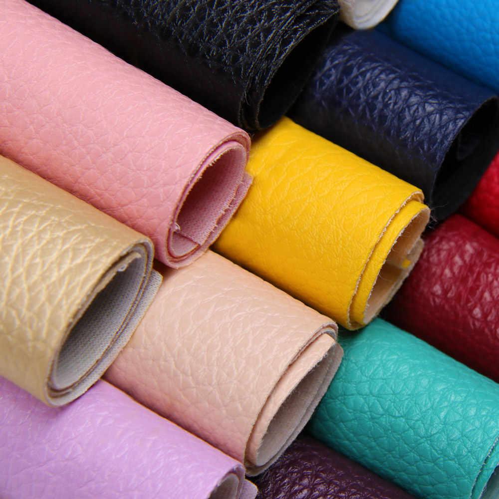 Jojo arcos de couro sintético para artesanato, tecido liso de couro sintético 22*30cm 1 peça laço de cabelo decoração para casa vestuário