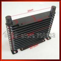 8 31 MOFE 10 Row Blue 10 AN Aluminum Transmission Cooler Racing Oil Cooler Raditor Kit