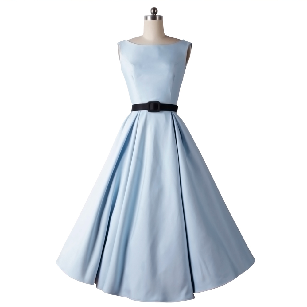 Long 50s dress theme