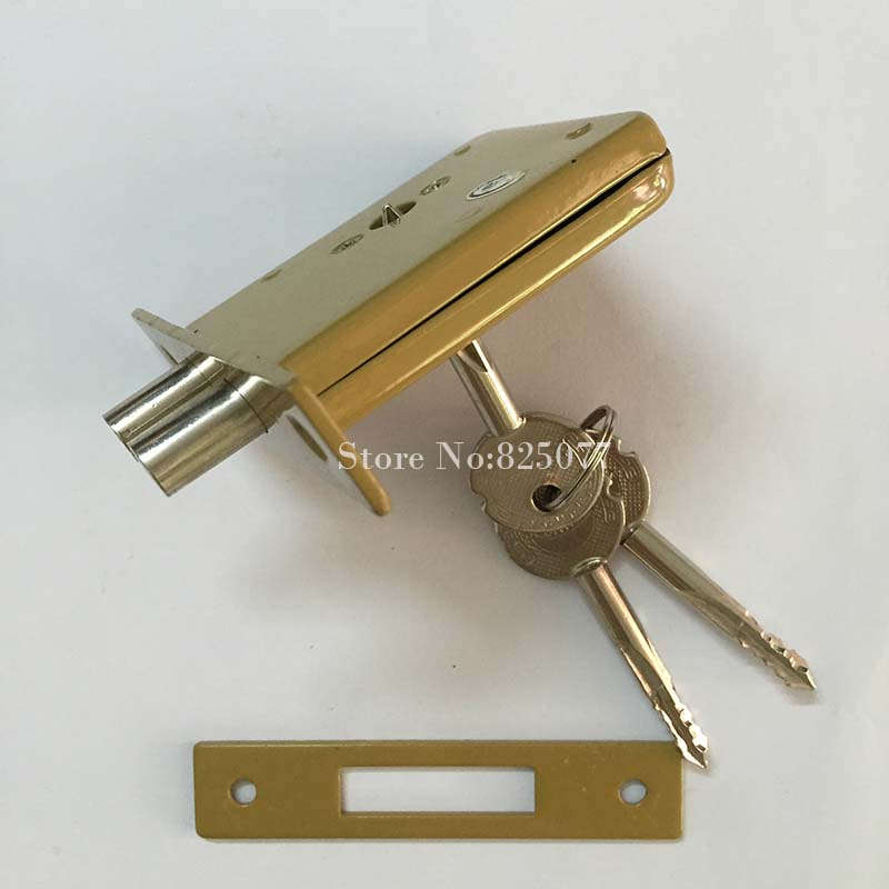 DeadBolt Invisible Locks,prevent lock picking double bar invisible , mortise, tubewell ,security ,Mortice locks HM49 new sus 304 stainless steel atresia mortice channel invisible locks corridor privacy lock deadbolt invisible door locks f16