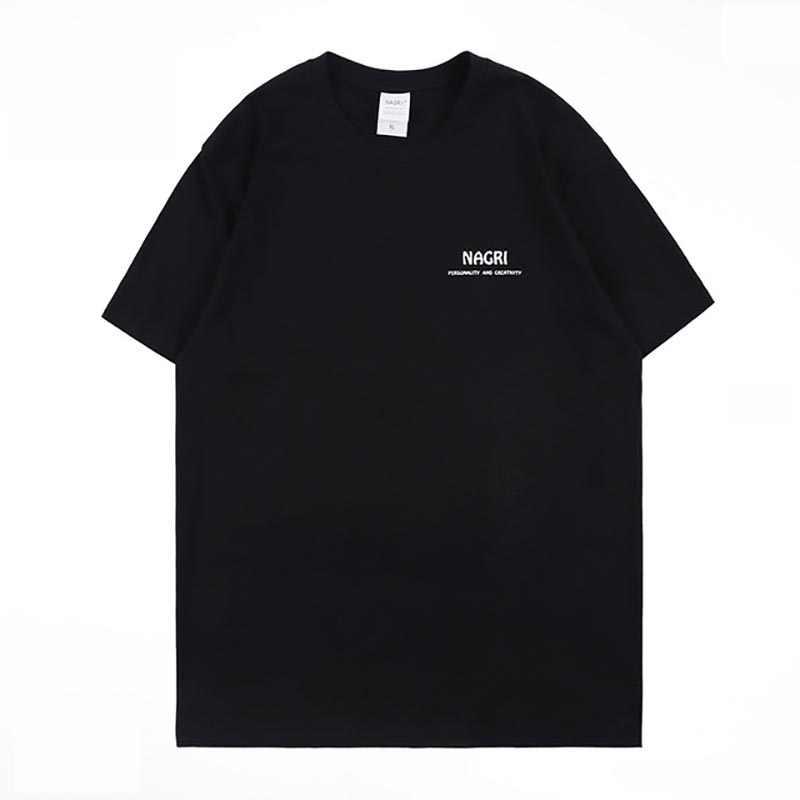 Paleis leven zomer streetwear mannen T-shirt engel en duivel print katoen O-HALS hiphop sport t-shirt mannen camiseta masculina