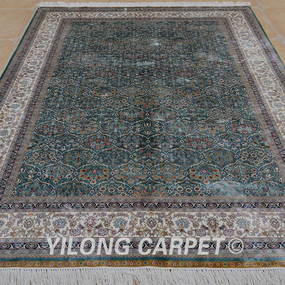 Yilong 5,5'x8 'Hereke preproga pravokotnik modna turška preproga - Domači tekstil - Fotografija 2