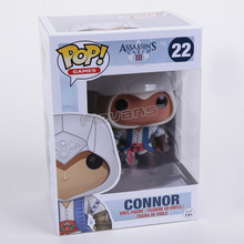FUNKO POP Games Assassin's Creed III 3 Connor #22 Vinyl Figure Collection Toy Doll 9.5cm