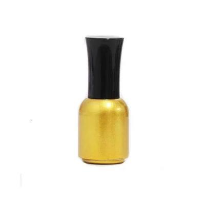 freeshipping 10ml10/20/30pcs/lot golden empty glass nail polish bottle,with a lid brush cosmetics packaging nail bottle dispenser lid monin syrups 1833 syrups pump lid syrups dispenser monin glass bottle pump lid with high quality