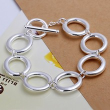 2016 Hot Silver Color Jewelry bracelet, silver plated wristlet vintage-accessories Seven O Bracelet /UQXRESQO SSPYELIQI