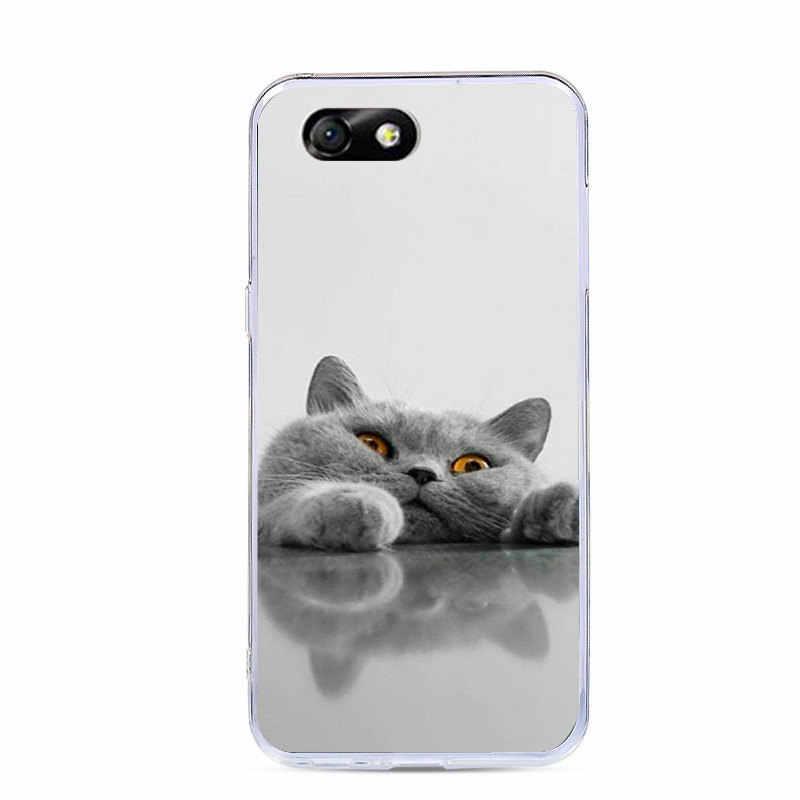 "J & R милый чехол для телефона с рисунком в виде животного для Huawei Honor 4x Силиконовый чехол для Huawei Honor 4x 4 X Che2-L11 5,5 ""прозрачный случаях узор"