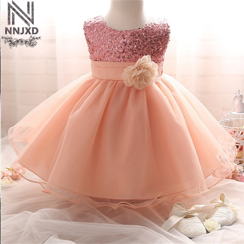 newborn baby girl 1st 2nd birthday outfits dress for girl