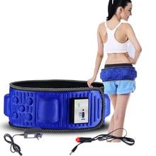 Пояс для похудения X5 Times Электрический Вибрационный фитнес массажер машина для похудения Сжигание жира стимулятор мышц живота для бедер