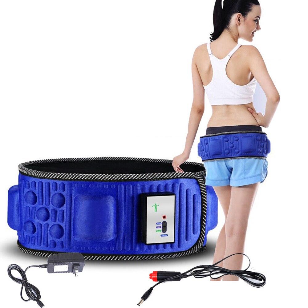 Máquina elétrica do massager da aptidão da vibração dos tempos da correia x5 do emagrecimento perder o peso que queima o estimulador gordo do músculo abdominal para o quadril