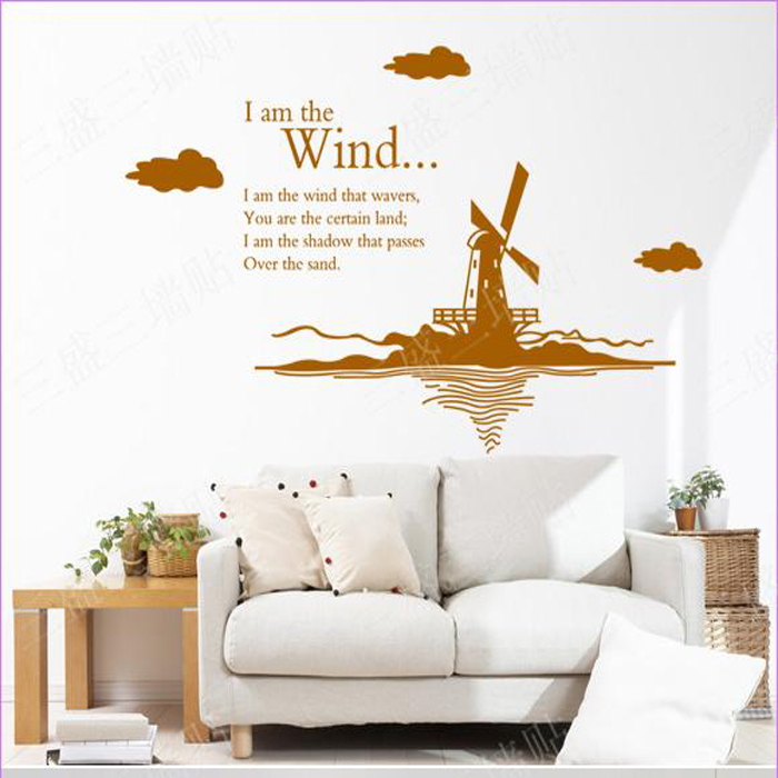 Windmill Wall Art online get cheap windmill stickers -aliexpress | alibaba group