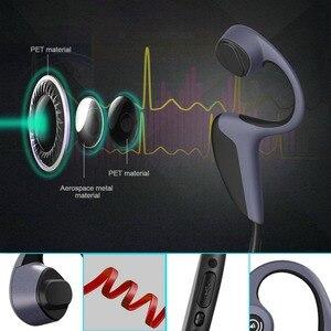 Image 5 - Bluetooth 5,0 Z8 Беспроводные наушники с костной проводимостью наушники для спорта на открытом воздухе гарнитура с микрофоном гарнитуры громкой связи