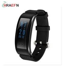 Новый DF23 Smart Band IP68 водонепроницаемый монитор сердечного ритма SmartBand фитнес-трекер спортивные часы для IOS Android PK Huawei браслет