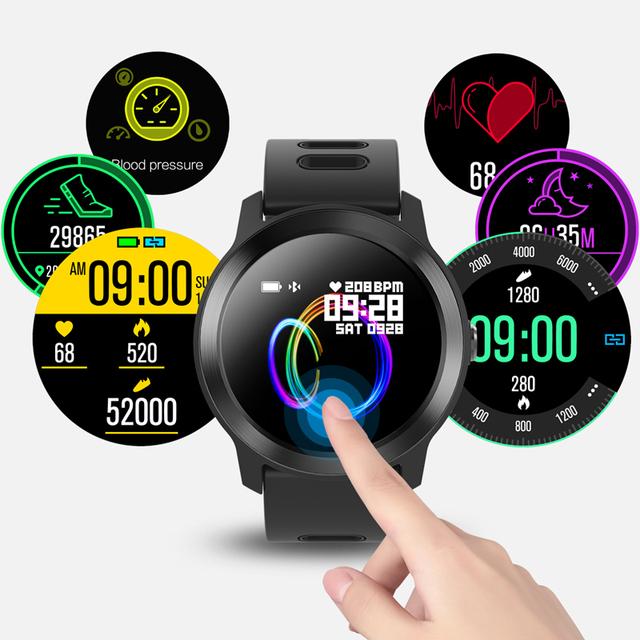 Waterproof Silicone Smart Watch