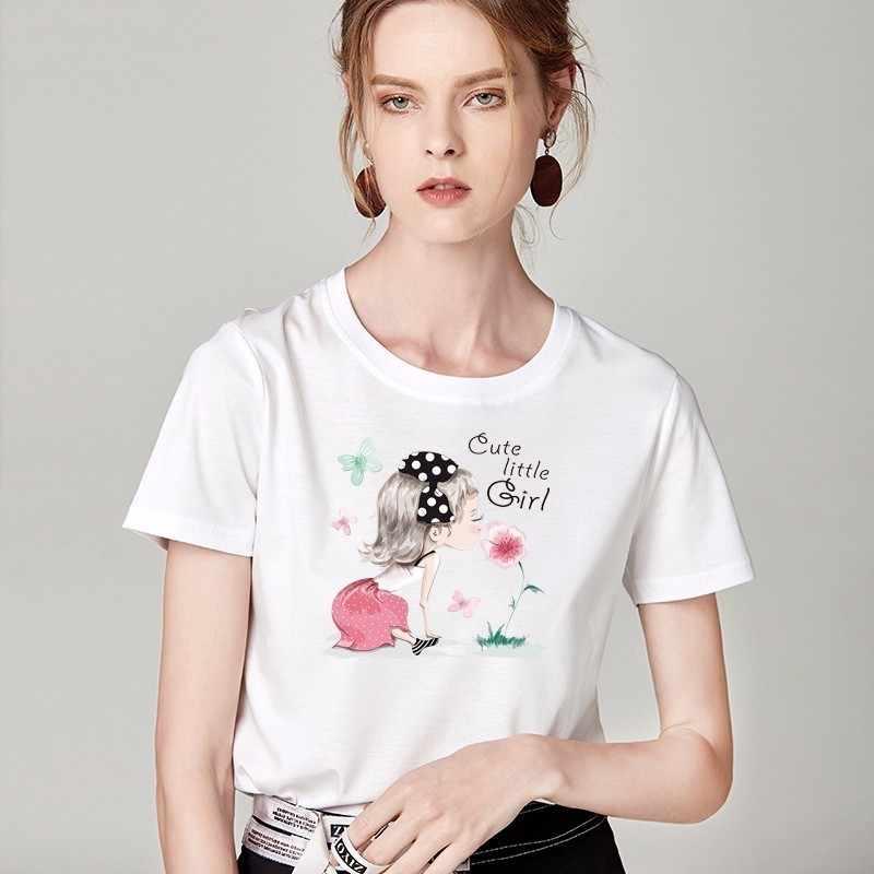 般若パリ現代の女の子パッチ転送に Tシャツ服ファッション女の子熱転送ビニール装飾アップリケ E