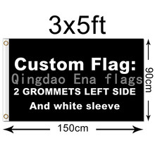 3x5 FT Free Design Digital Printing All Styles All Logos Polyester Custom Flag Banner(China)