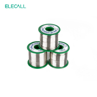 ELECALL New Arrival Tin 0.8mm 450g 99.3SN Rosin Core Tin/Lead Free Rosin Roll Flux Reel Melt Core Soldering Tin Solder Wire