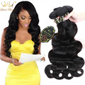 104.13 $4 Feixes 20 22 24 26 polegadas Brasileira Do Cabelo Virgem WaveHair Corpo Feixes Tecer 100% cabelo Humano Cru Não Processado Extensões de cabelo