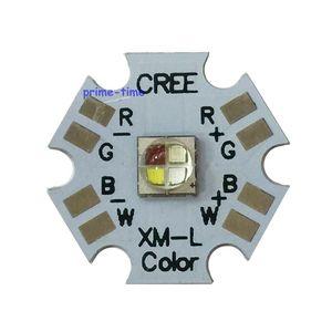 Image 1 - 5 stücke Cree XLamp XML XM L RGBW RGBWW RGB + Kühlen/Warm Weiß 12w 4 chip LED Emitter montiert auf 20mm Sterne PCB Für Bühne Licht