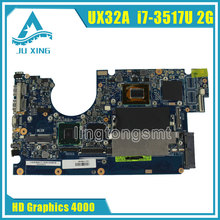 Laptop Płyta Główna asus UX32A UX32VD rev2.4 2.2 zarząd Główny i7-3517u cpu integarted HD Graphics 4000 2 GB VRAM 100% testowane