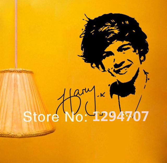 FREE SHIPING 50x55cm (20x22in)Happy Style 1D Harry Styles One ...
