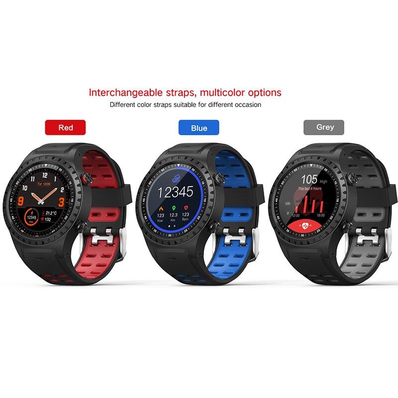 Northedge GPS montre intelligente en cours d'exécution Sport GPS montre Bluetooth appel téléphonique Smartphone étanche fréquence cardiaque boussole horloge d'altitude - 5