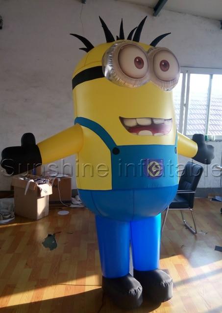 Custom despicable me minion mascot costume inflatable minion costume for adult/kids & Custom despicable me minion mascot costume inflatable minion costume ...